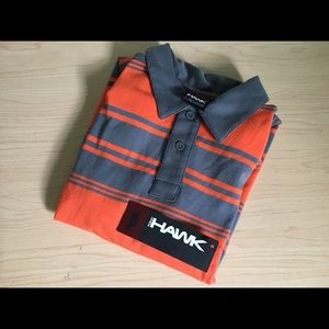 NWT Tony Hawk Striped Button Up